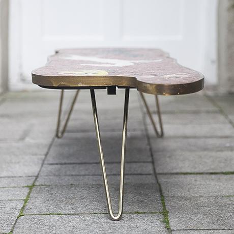 mosaic_table_horse_vintage