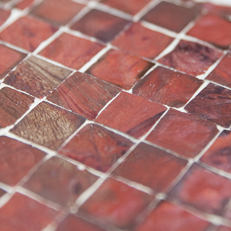 mosaic_table_horse_red_art