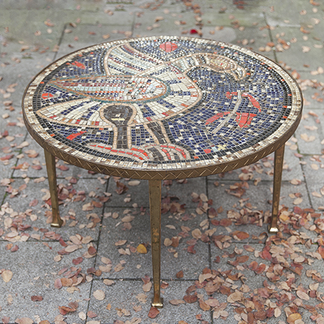 mosaic_table_round_bird