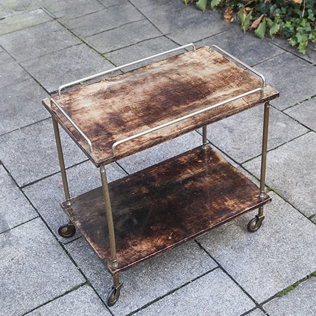 Aldo_Tura_bar_trolley_brown