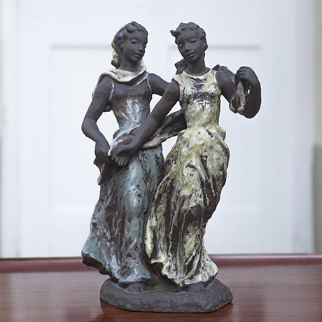 Gronau_menuette_ceramic_sculpture