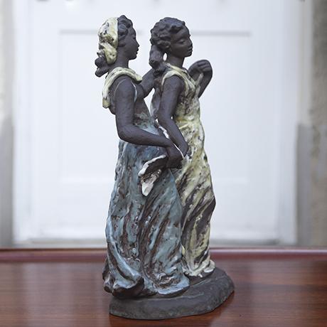 Menuette Ceramic Sculpture by Lore Friedrich Gronau