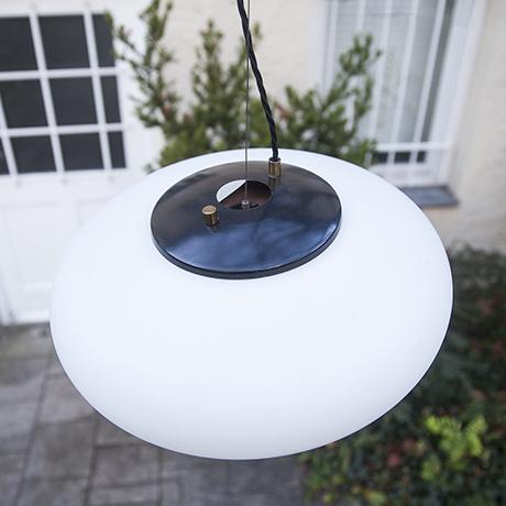 Stilnovo_Glaslampe_Italien_design_Hängelampe