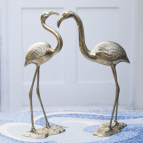 flamingo_Messing_Skulptur_Kunst