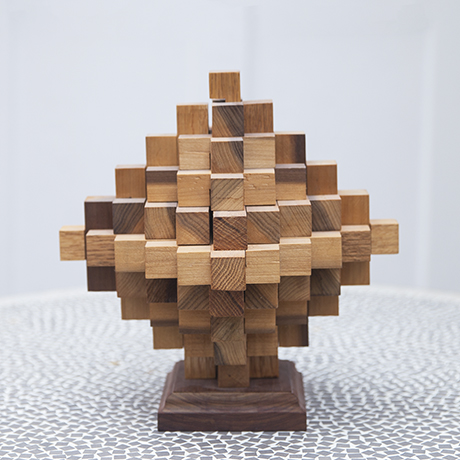 puzzle_sculpture_wooden_rhombus