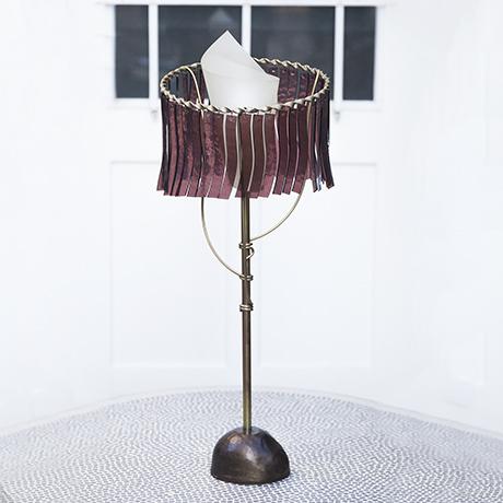 Artemide_table_lamp_red_interior