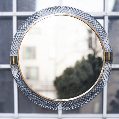 Venini_Tracia_wall_mirror_round
