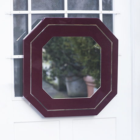 Maison_Jansen_mirror_burgundy_red