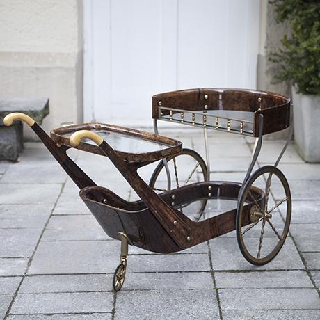 Aldo_Tura_Barwagen_braun_vintage