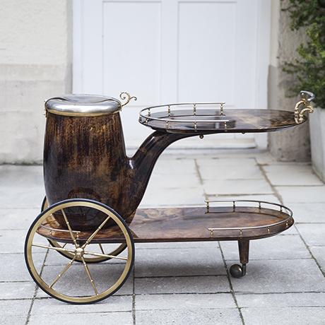 Tura_bar_cart_brown_pipe