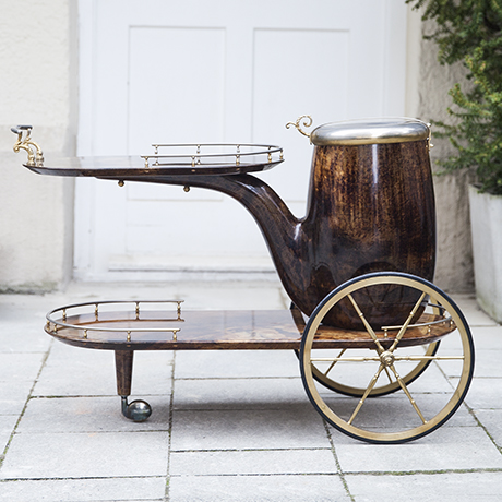 Aldo_Tura_bar_trolley_cart