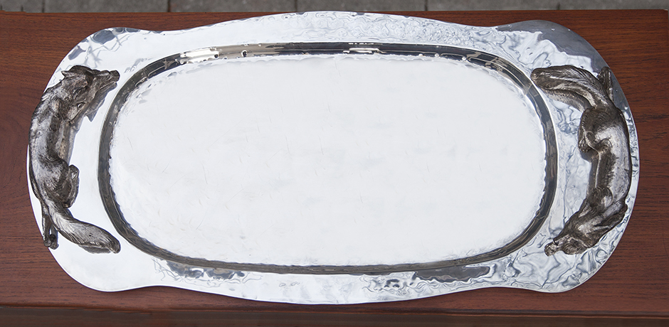 Franco_Lapini_serving_tray_fox