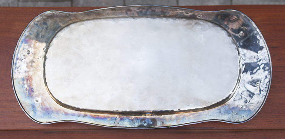 Franco_Lapini_serving_tray_silber