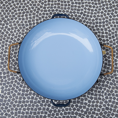 Herbert_Krenchel_enamel_plate_blue