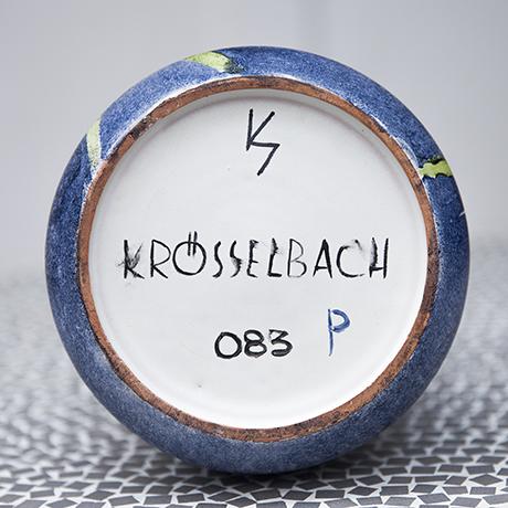 Krösselbach_vase_pottery_signed_marked