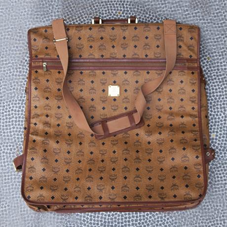 MCM Monogram Vintage Garment Travel Bag 1980 | Schlicht