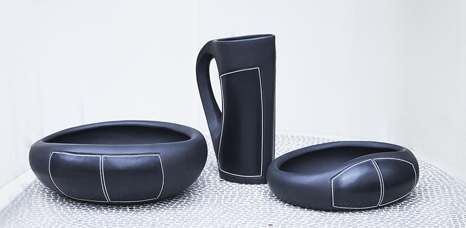 Gucci_ceramic_bowl_pitcher_black