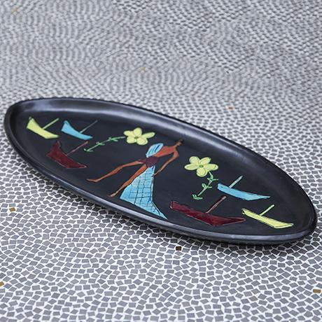 Vallauris_ceramic_plate_beach_scene