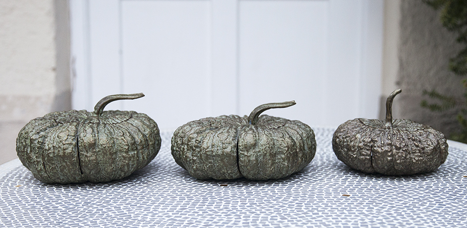 Verdigris_bronze_pumpkins_french_design