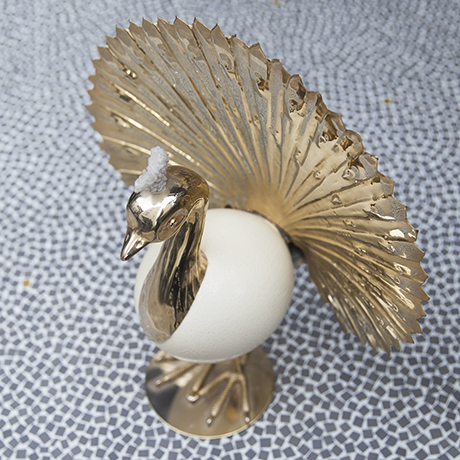 golden_pheasant_sculpture_figure_object