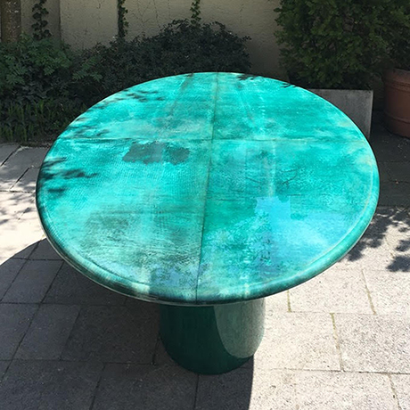 Aldo_Tura_dining_table_green_4