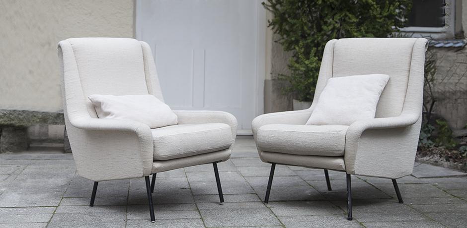 Schlichtes DesignFabric_armchairs_cream_0