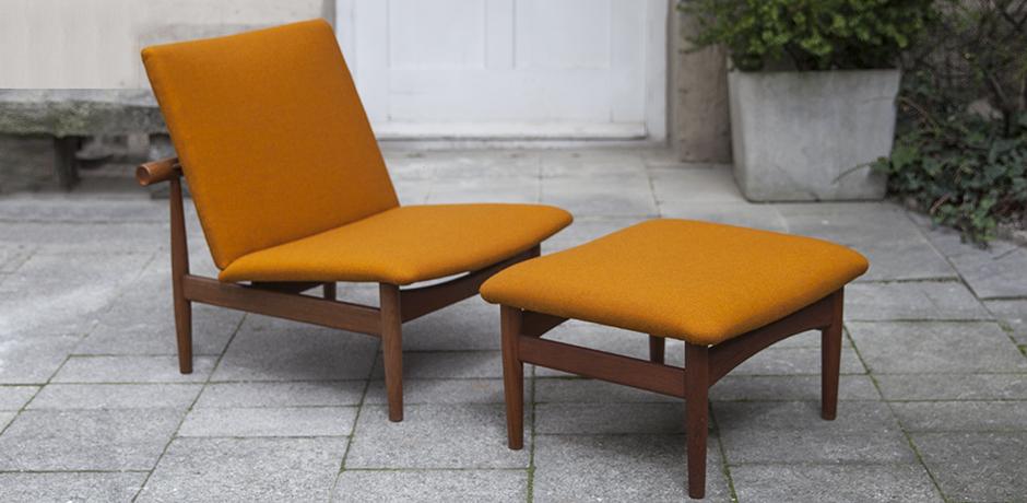 Finn_Juhl_lounge_chair_ottoman_orange_2