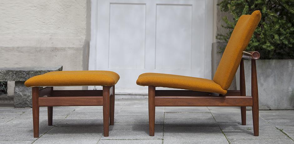 Finn_Juhl_lounge_chair_ottoman_orange_5