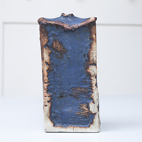 Schlichtes Designceramic_vase_robert_sturm_blue_keramik_vase
