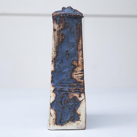 art_pottery_robert_sturm_blue_keramik_vase