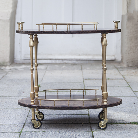 Tura_bar_cart_oval_vintage