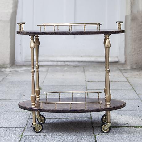 Tura_bar_cart_oval_vintage