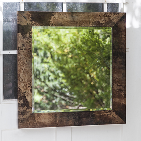Aldo_Tura_mirror_squared_brown