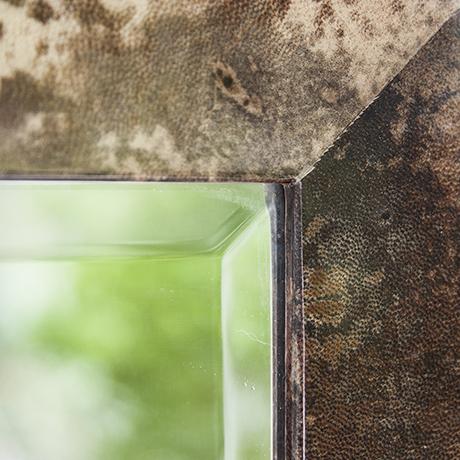 Aldo_Tura_mirror_squared_brown