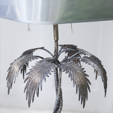 Valenti_palm_leaves_lamp_silver