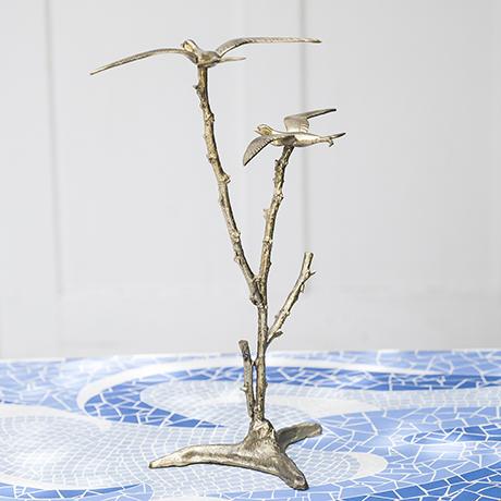 Vogel_Vögel_Baum_gold_skulptur