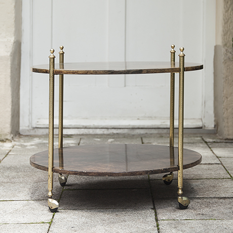 Tura_bar_cart_brown_round