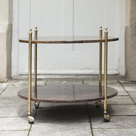 Tura_bar_cart_brown_round