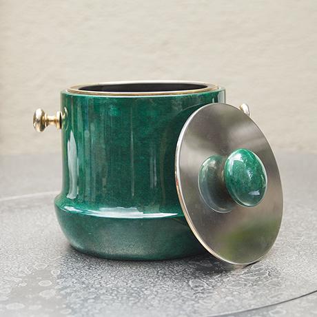 Tura_ice_bucket_green_italy