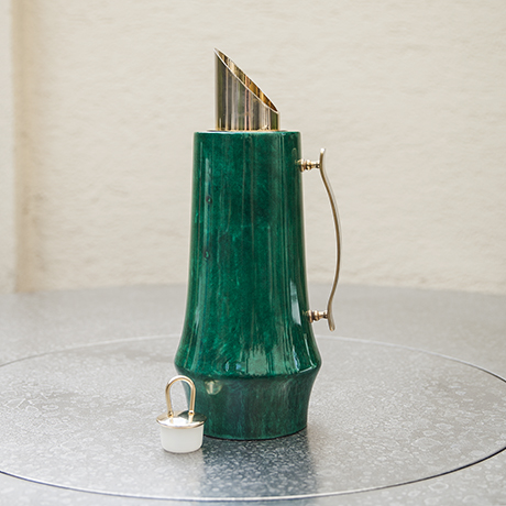 Aldo_Tura_pitcher_carafe_green