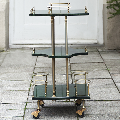 Tura_bar_cart_green_italy
