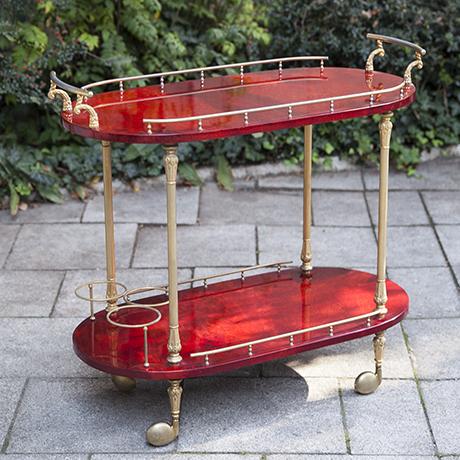 Tura_bar_cart_red_italy