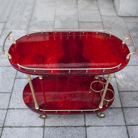 Tura_bar_cart_red_goatskin
