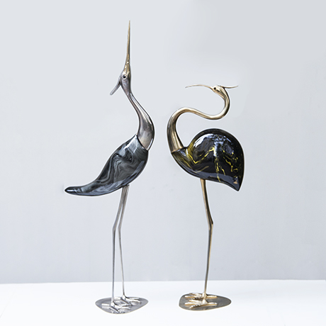 De_Stijl_heron_bird_sculpture