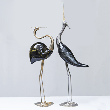 De_Stijl_Vogel_Skulptur_Reiher
