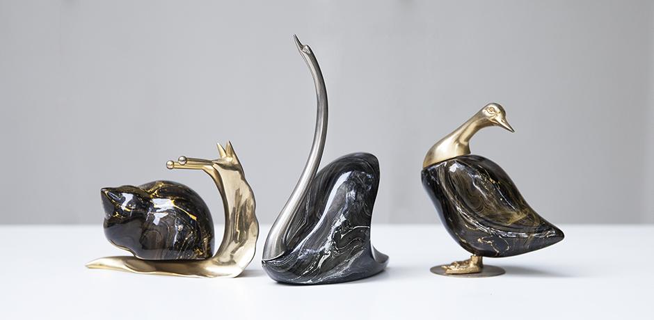 Schlichtes DesignDe_Stijl_swan_snake_duck