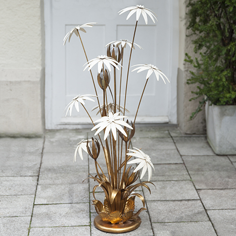 Hollywood_Regency_flower_floor_lamp