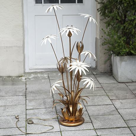 Hollywood_Regency_flower_floor_lamp
