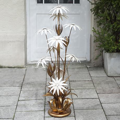 Hollywood_Regency_flowers_floor_lamp
