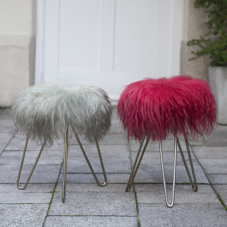 Lambskin_Vanity_stools_colorful